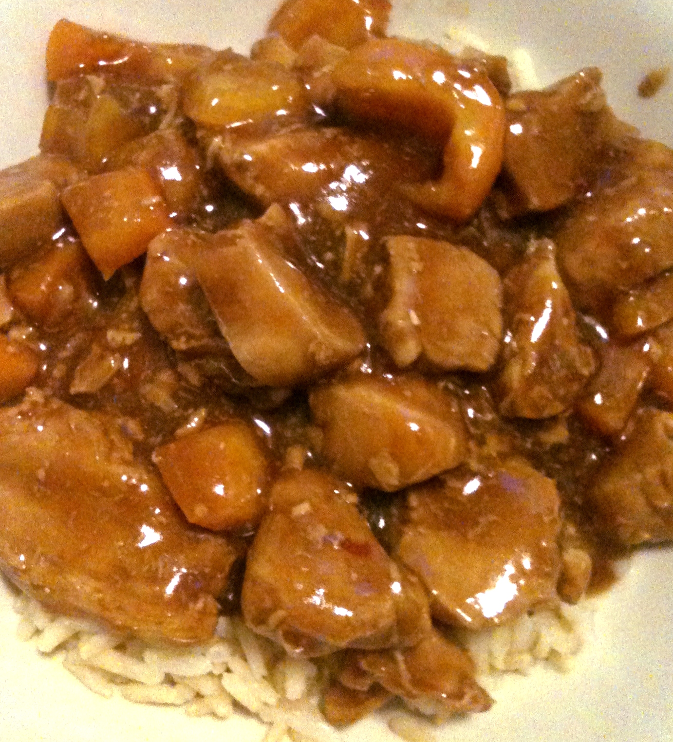 Bourbon Chicken | Heather's Homemade