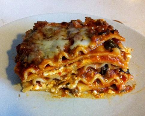 lasagne formaggio